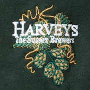 Harveys-Brewery-Sweatshirt-Green-Logo