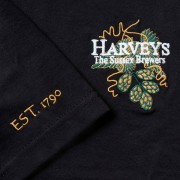 Harveys-Brewery-tshirt-black-logo
