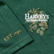 Harveys-Brewery-tshirt-green-logo