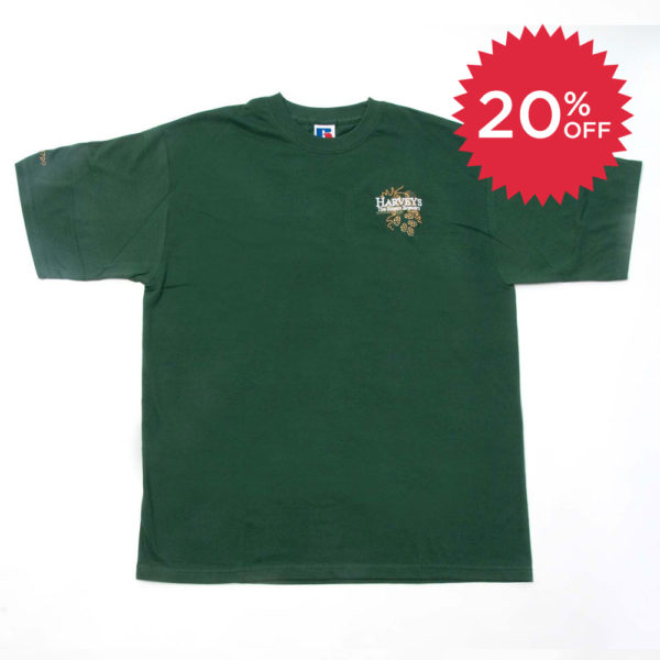Harveys-Brewery-tshirt-green sale