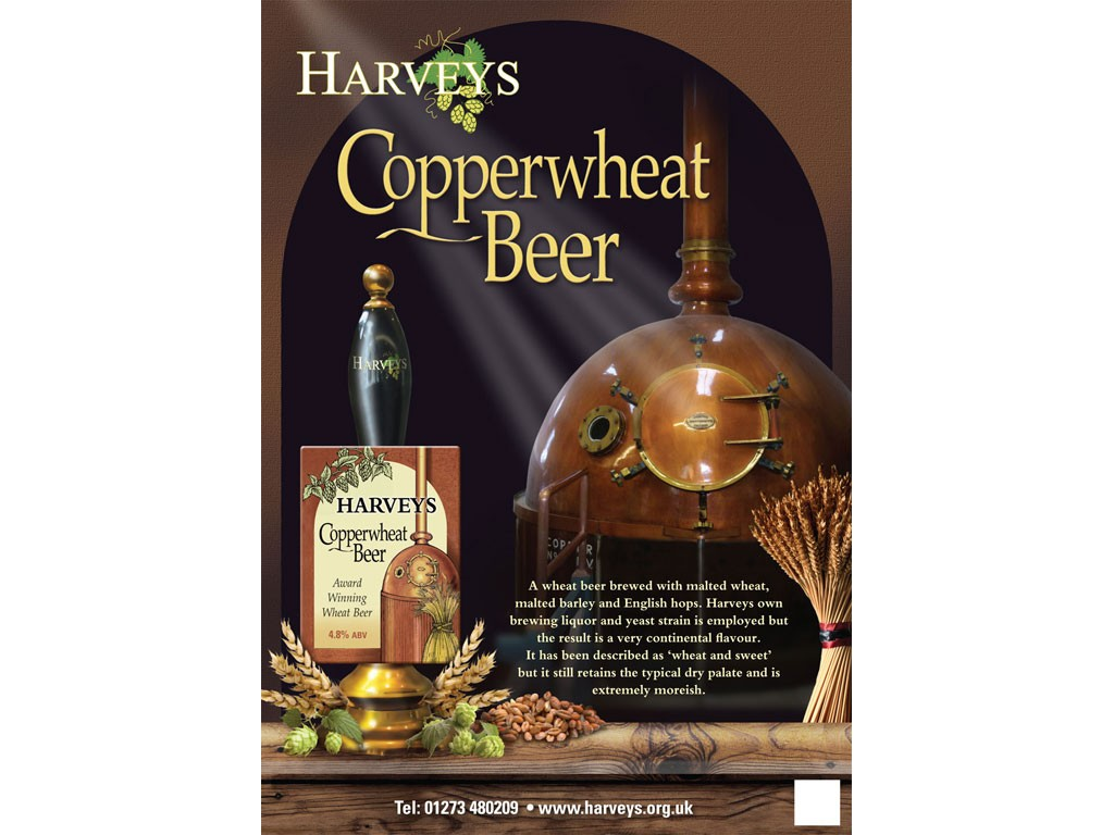 Copperwheat Poster