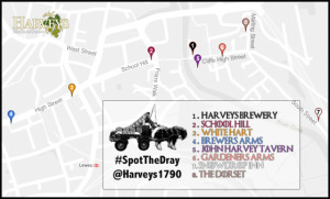 Spot The Dray Route 22nd November