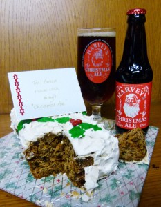 Harveys 'Christmas Ale' Tea Bread