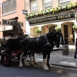 Harveys Dray Cart London Crutched Friar