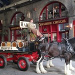 Harveys Dray Cart London Cheshire Cheese