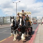 Harveys Dray Cart London Bridge