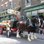 Harveys Dray Cart London Market Porter