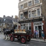 Harveys Dray Cart London Royal Oak