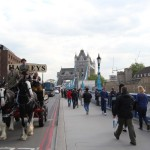 Harveys Dray Cart London Tower Bridge