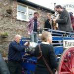 Bellowhead Revival Ale Launch at Harveys Brewery