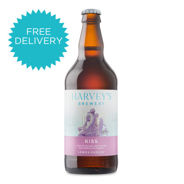 Harvey's Kiss Free Delivery
